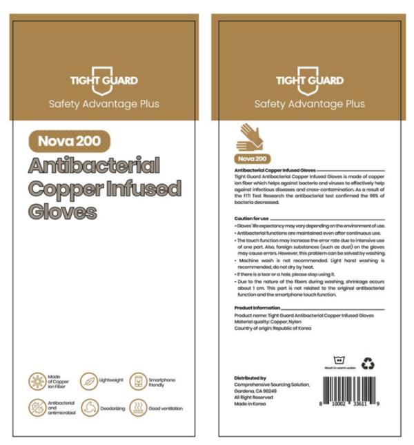 Antibacterial Copper Infused Gloves-1