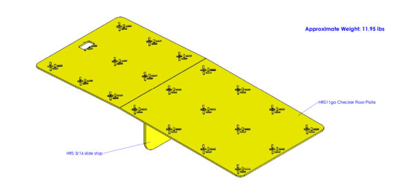 T184071A-01 (Loading Dock Gap Cover Plate) Concept Rev 0.0